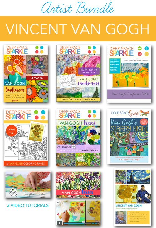 Artist Bundle: Van Gogh Art Projects for Kids