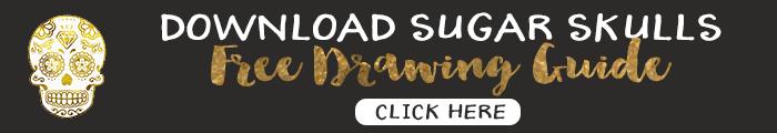 Download Free Sugar Skull Drawing handout