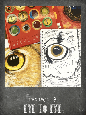 The Sketchbook Project Lesson #8 Animal Eyes