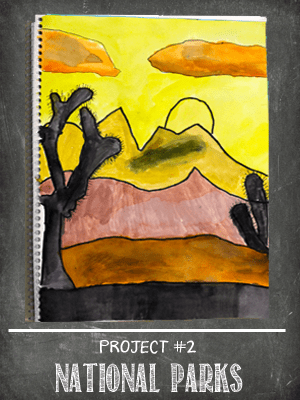 The Sketchbook Project: Atmospheric Perspective