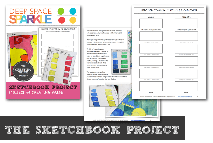 The Sketchbook Project Lesson #1 Creating Value