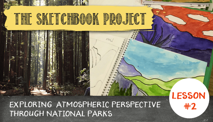 Sketchbook Project: Drawing the National Parks and Perspective