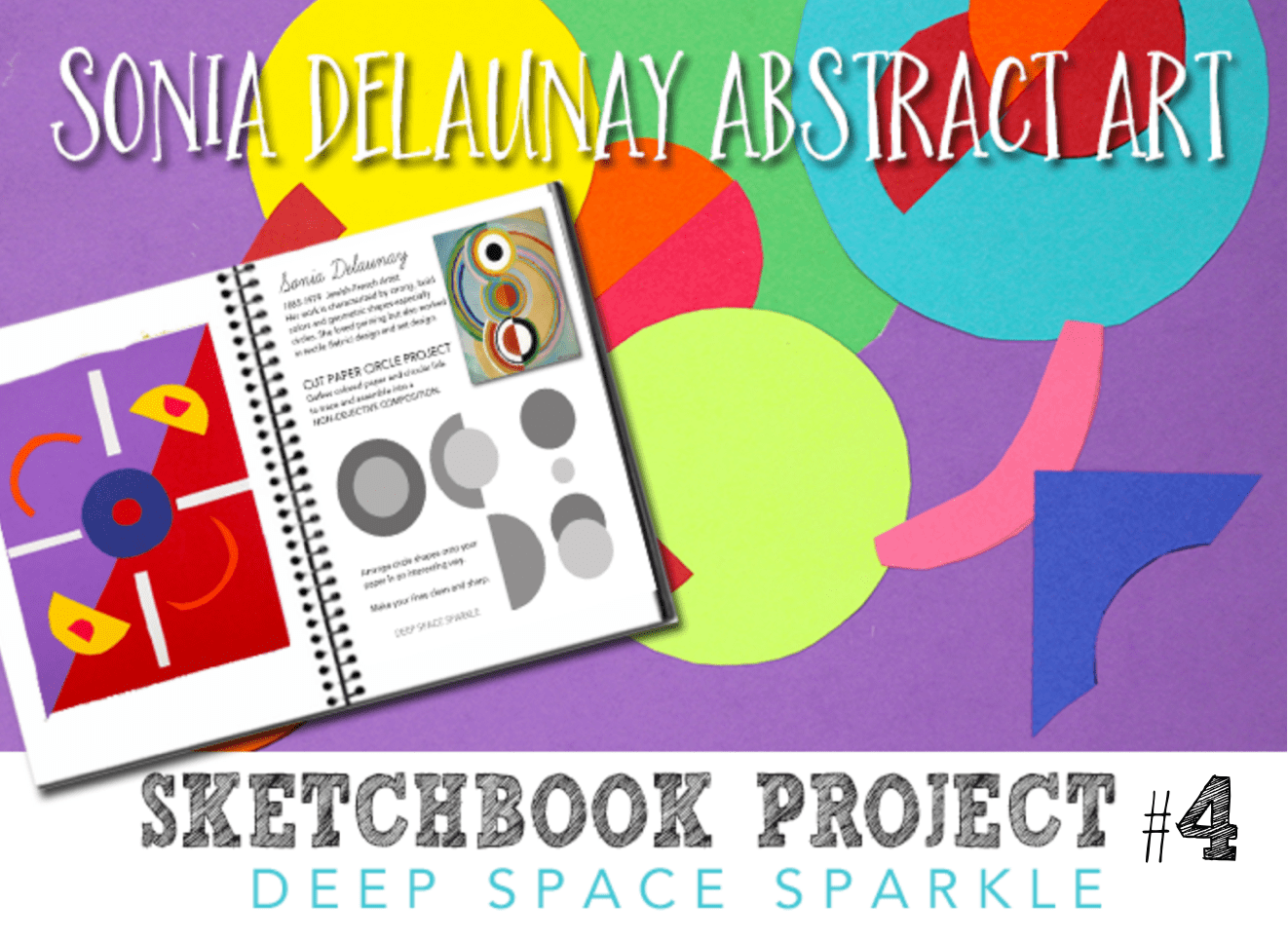Sketchbook Project 4 Abstract Art Free Project Guide
