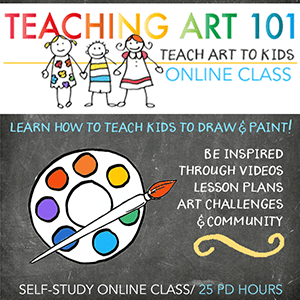Teaching Art 101 Class