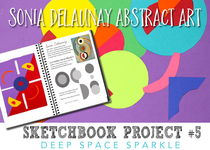 Sketchbook Project #4: Abstract Art + Free Project Guide