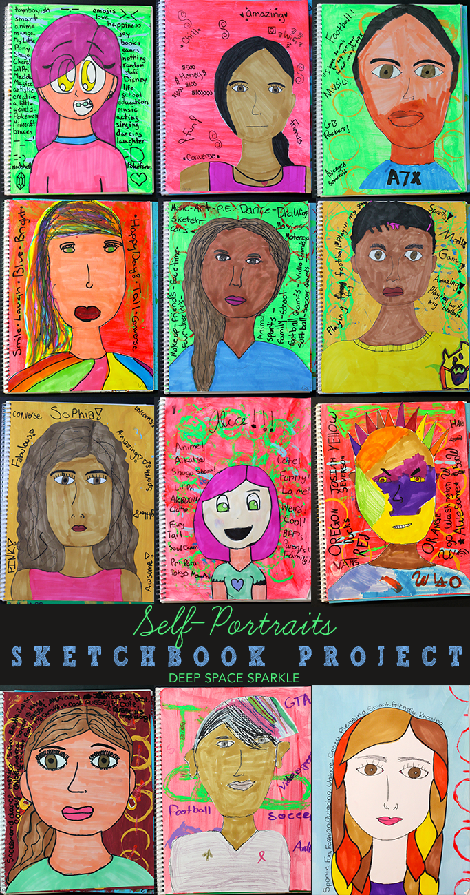 The Sketchbook Project #6 Portraits