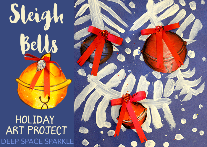 Sleigh Bell Holiday Art project