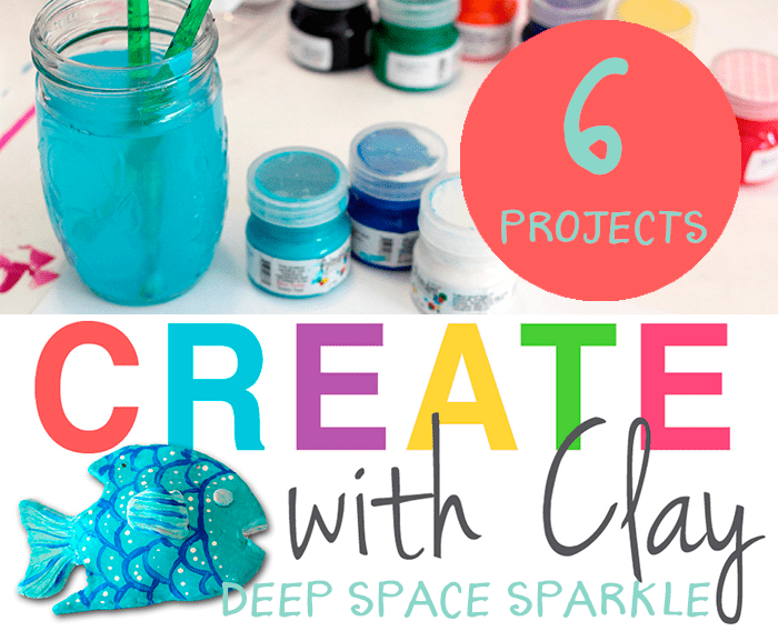 create with clay projects for k3 deep space sparkle