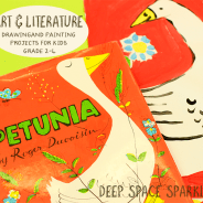 """""""Petunia"""" Painting Project for Kids"""