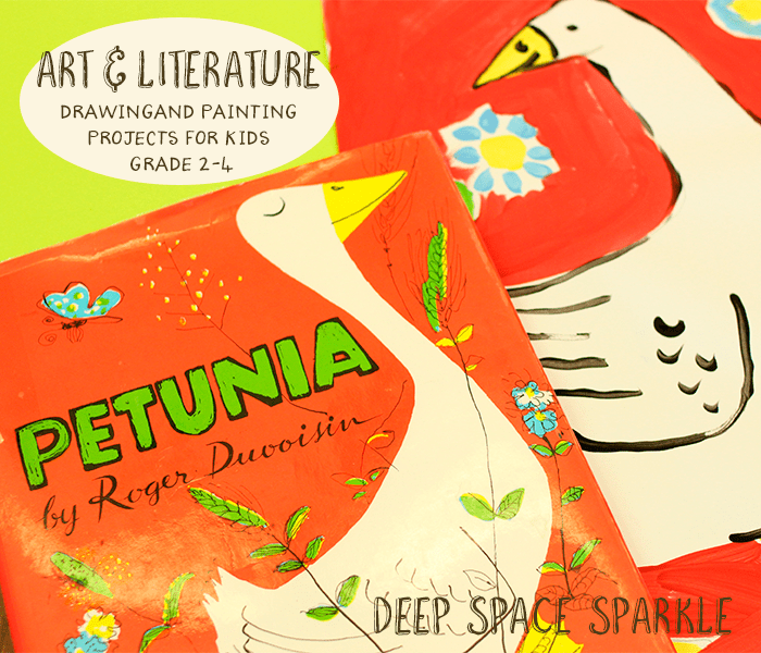"""Petunia"" Painting Project for Kids"