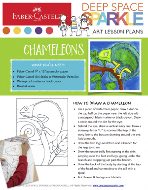 How to Draw a Chameleon Free download