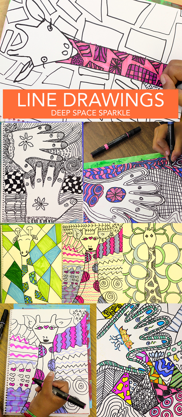 The Sketchbook Project: Line & Color Drawings