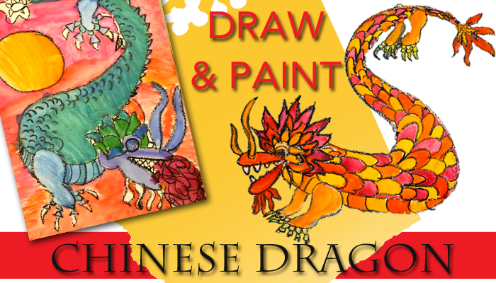 Draw and Paint a Chinese Dragon