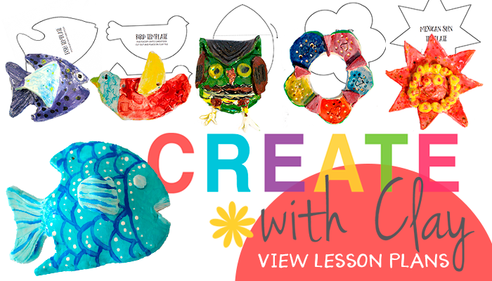Create with Clay art projects for kids