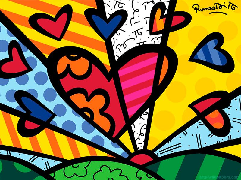 Romero Britto Print