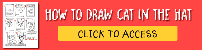 Download a free Cat in the hat drawing guide