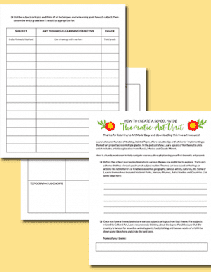 How-to-Design-a-Thematic-Unit-Worksheet