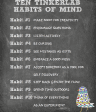 Ten Tinkerlab Habits of Mind from Deep Space Sparkle