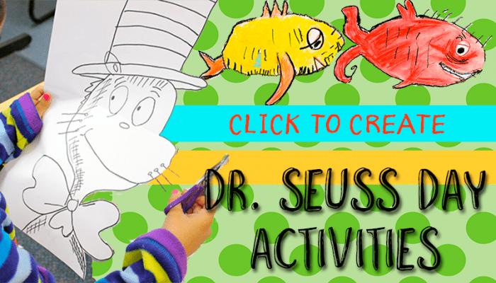 Dr. Seuss Day Art Activities