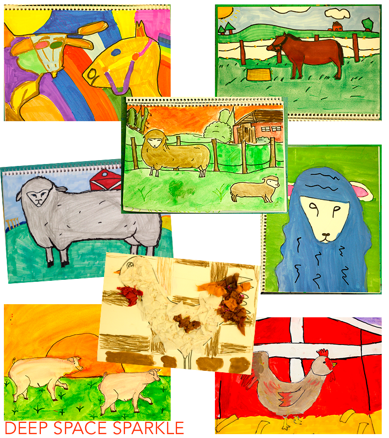 The Sketchbook Project: How to Draw Farm Animals