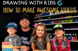 How to Draw with Kids & Create a Rockin' YouTube Show – Art Made Easy 015