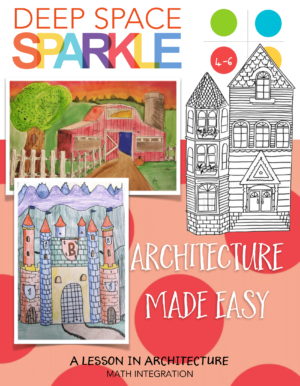 Architecture Made Easy: How to draw a castle, barn and victorian home