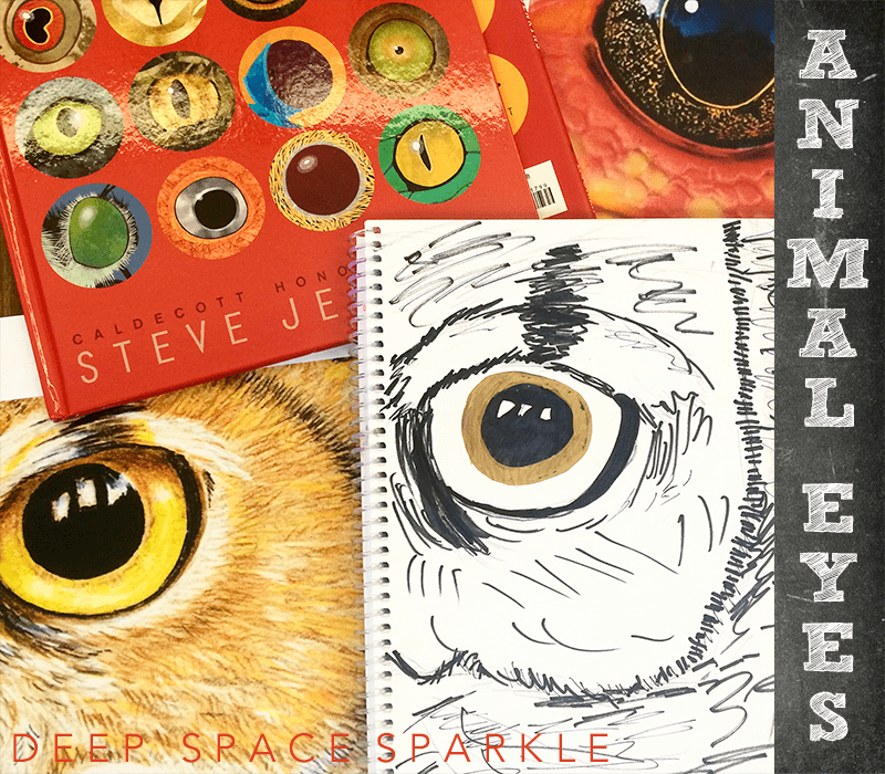 Sketchbook Project #8: Animal Eyes