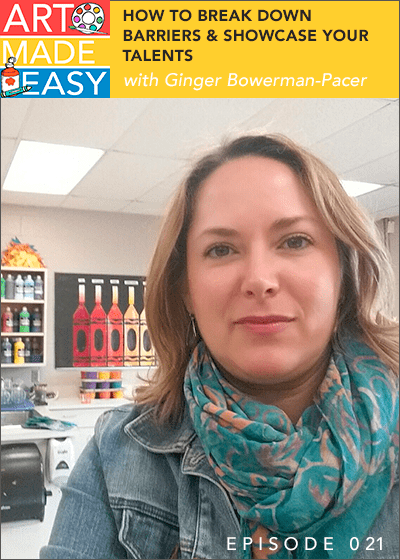 Art Made Easy interviews Paintbrush Rocket's Ginger Bowman-Pacer