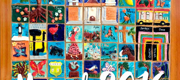 Santa Barbara Ceramic Tile Mural