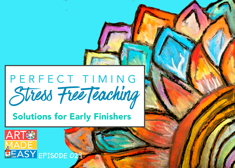 Solutions for early finishers: Perfect timing in your art class. Art Made Easy 029