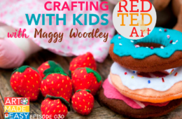 Crafting with Red Ted Art: Art Made Easy 030