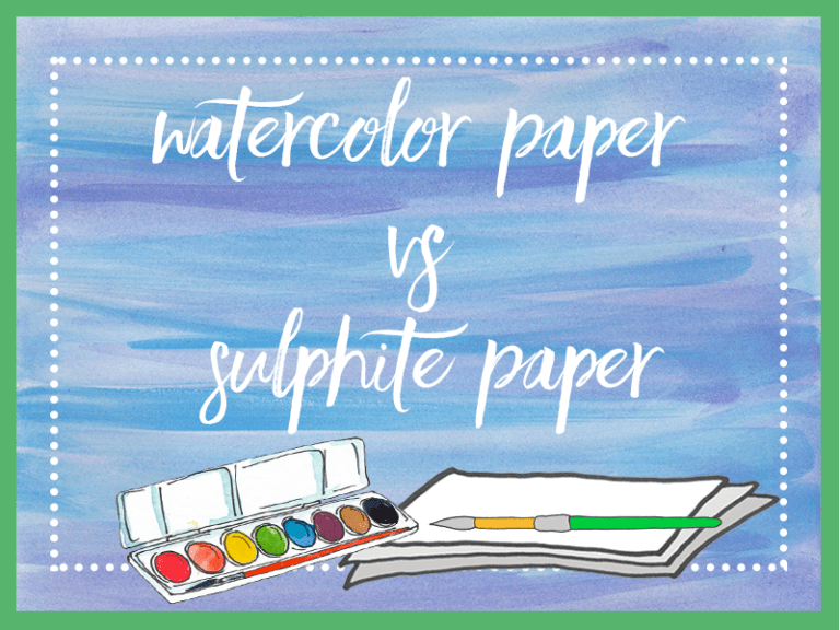 Watercolor Paints & Paper: What Works Best