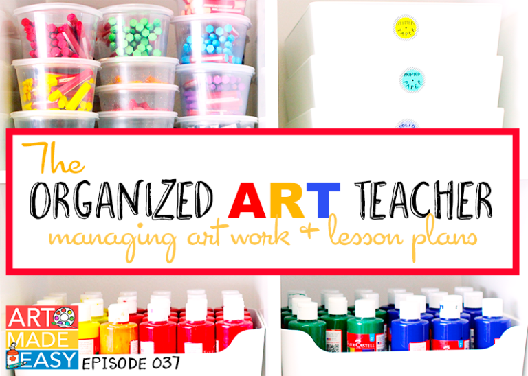 The Organized Art Teacher: Art Made Easy 037