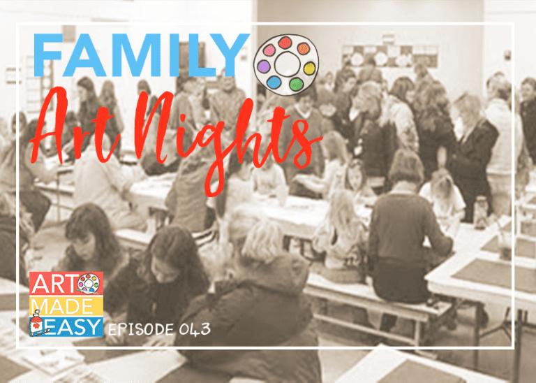 Family Art Nights: AME 043