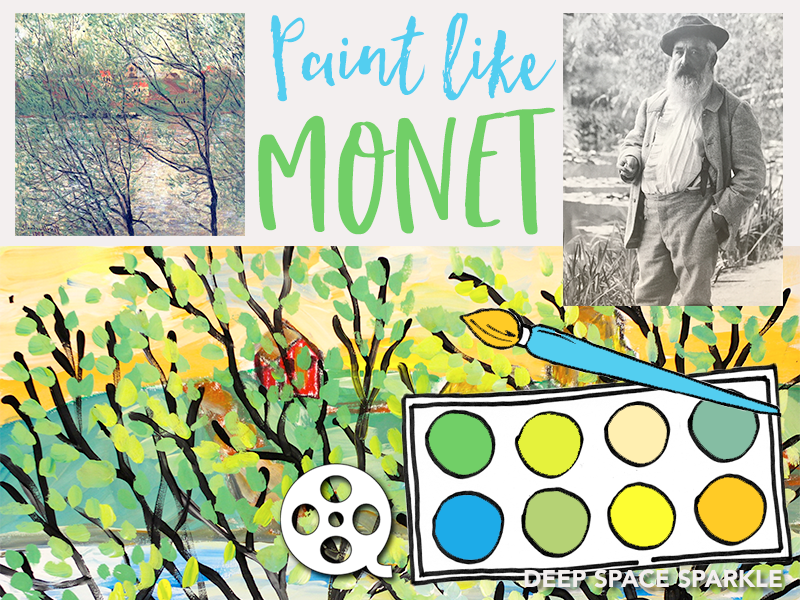 Paint Like Monet
