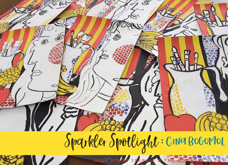 Sparkler Spotlight Gina Bogomol Deep Space Sparkle's Members Club