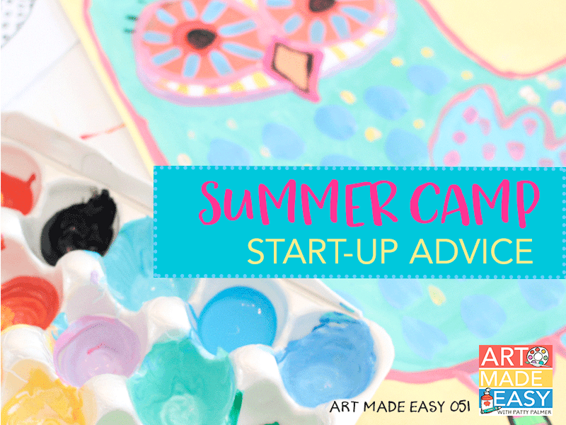 Interesting in hosting your own art classes at home or starting a summer art camp? This episode is your call-to-action! Download the guide and start planning today.