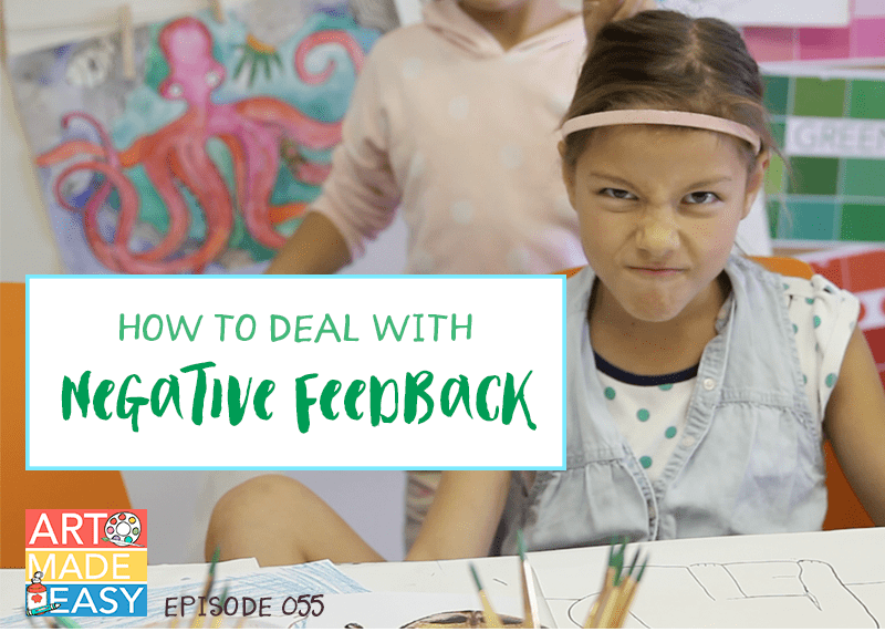 How to Deal with Negative Feedback: AME 055