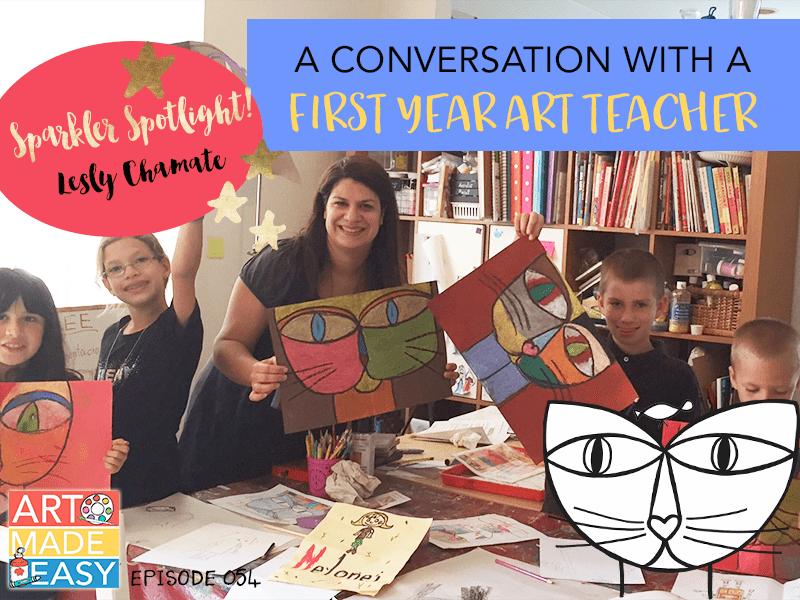 A Conversation with a First Year Art Teacher: AME 054