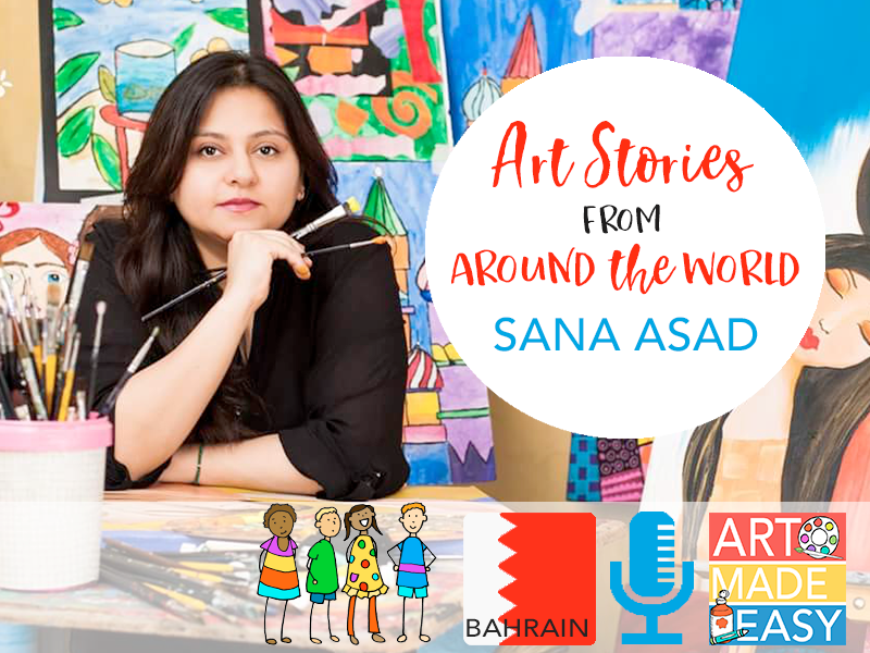 Art Stories From Around the World- Bahrain: AME 058