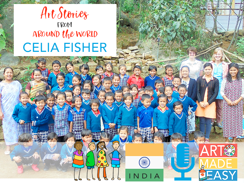 Teaching Art in a Remote Village in Northern India: AME 059