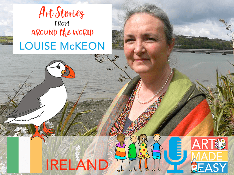 ART MADE EASY: Ireland Art Teacher Louise McKeon