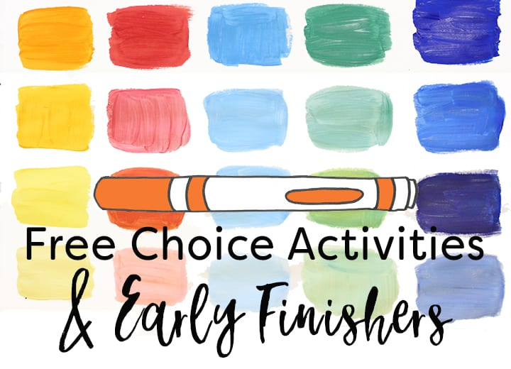 Activities and Strategies for Early Finishers in the art room