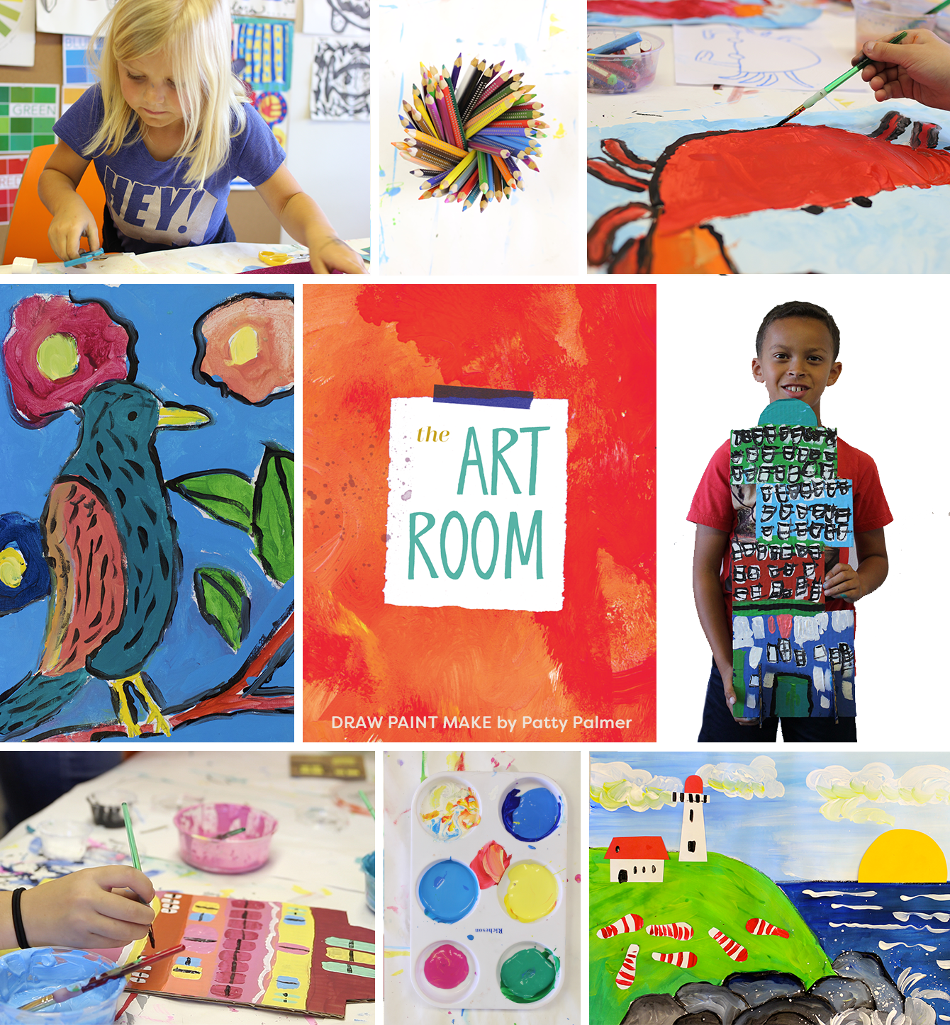 Draw Paint Make Creative Projects from an Elementary Art Teacher Patty Palmer