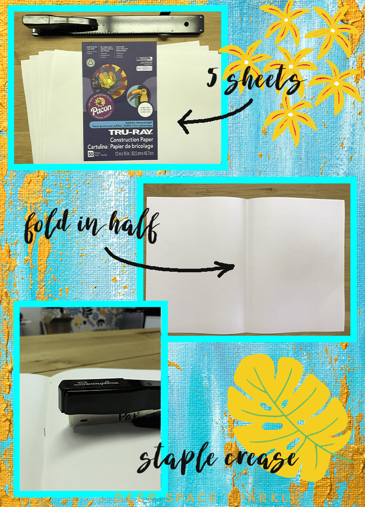Make your own sketchbook for under 50 cents