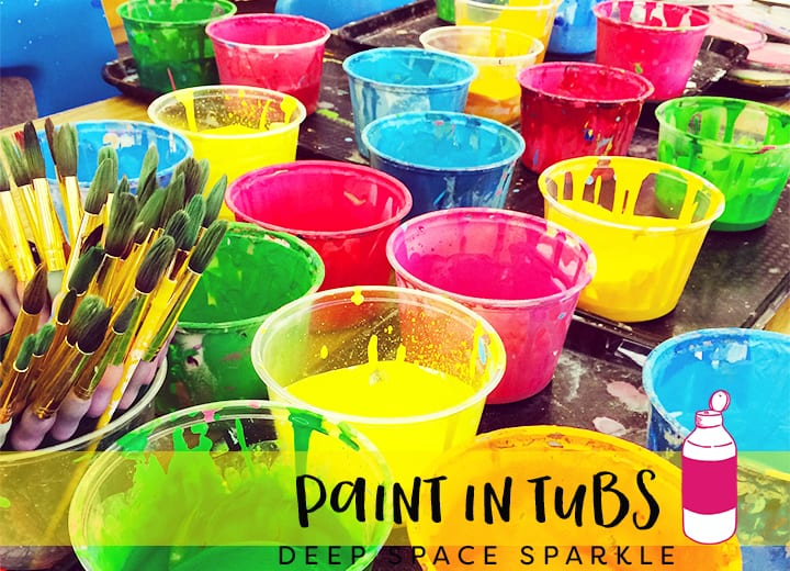 Paint it tubs- what to do with leftover paint