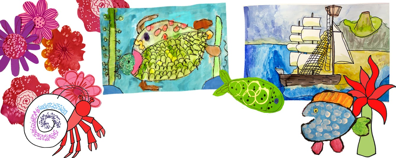 Create summer art projects with your kids!