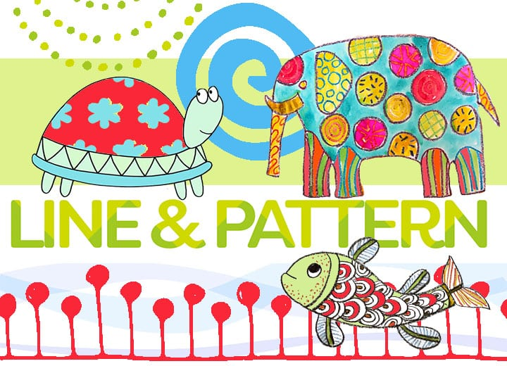 How to teach Line and Pattern to Children