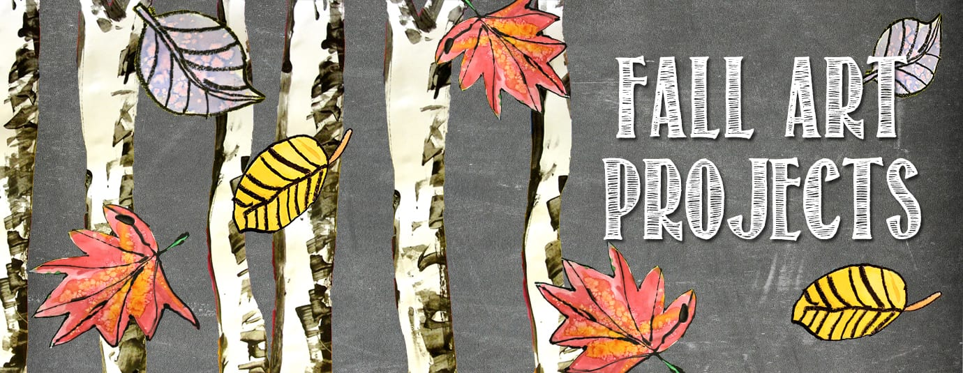 Fall Art Projects from Deep Space Sparkle