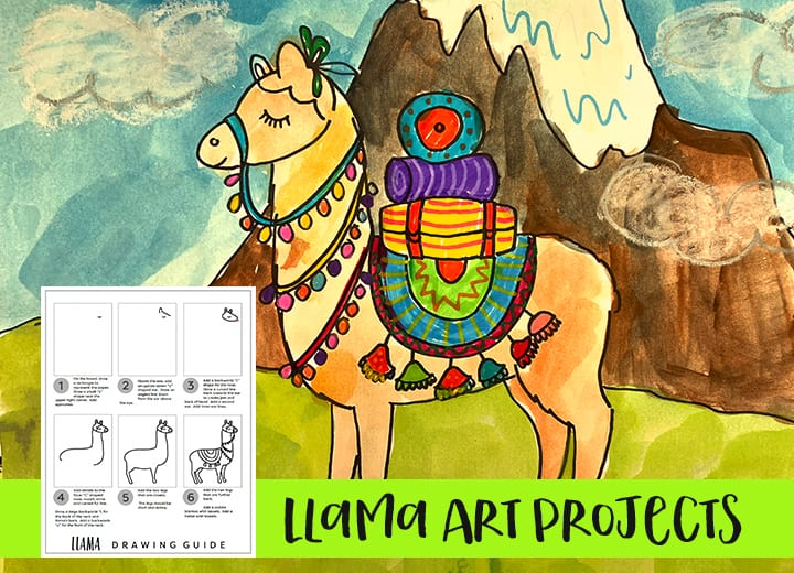 Learn how to draw a llama: step-by-step art guide